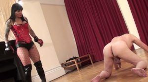 Ballbusting The Sissy Slut