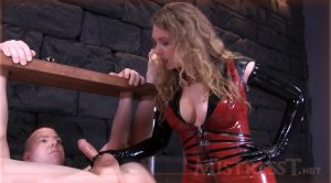 Extreme Humiliating Bound Milking – Mistress – T – Fetish Fuckery