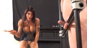 Bacon-Slicer Cock Whipping – Dometria – Violence To Men