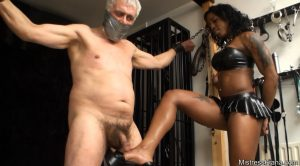 Ballbusting! HD – Mistress Kiana of London