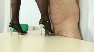 CRUEL PUNISHMENTS – SEVERE FEMDOM – Zita's cock and ball torture