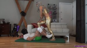 Aphrodite the Ball Trampling Goddess – Girls Next Door: TEAM BALLBUSTER