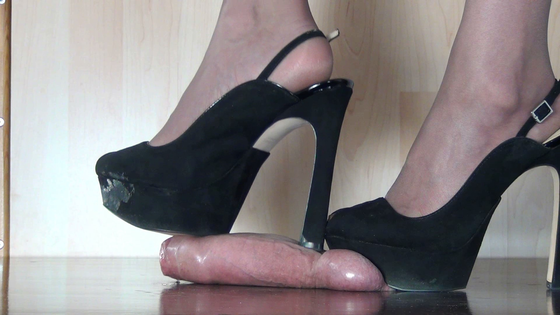 Cock Crush Trample Boots