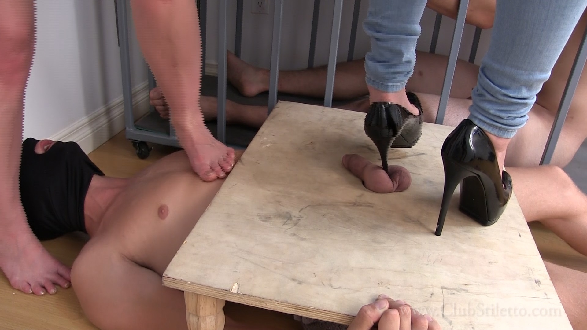ballbusting and cock