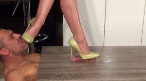 Lady Latisha Extreme Heel Insertion Clip 8A – Close Up! – High Heels Goddess – Lady Latisha