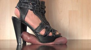 My new High Heels destroy everything – Aballs and cock crushing sexbomb