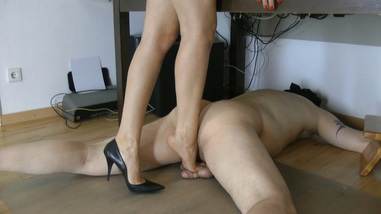 Double asian foot worship