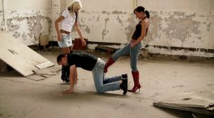 Brutal Girls, Ballbusting, Trampling and Spitting – Lady Ginger, Lady Divina – Watch Online
