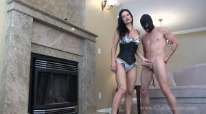 Out Of Chastity After A Month, Time To Bust Your Balls – Miss Jasmine – Club Stiletto FemDom