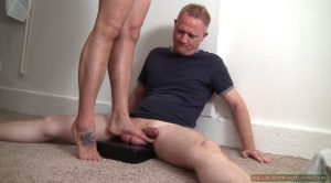Standing on Testicles – Rapture, Bryan Balldacious – Ballbustin' & Foot Lovin'