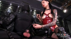Chastity Cum Training – Mistress Marley – VICIOUS FEMDOM EMPIRE