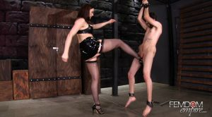 Glamazon Nut Buster – Chanel Preston, Jay Wimp – Vicious Femdom Empire