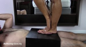 Michelle wants to pop his nuts! – Cock Box Perfection