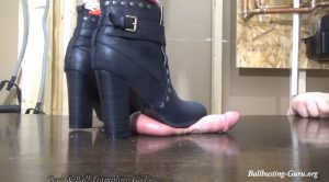 These Boots are made for Trampling – Goddess Crumb – Cock and Ball Trampling Girls