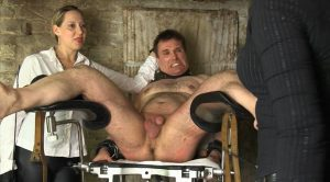 Whipped On The Gyn Chair – Mistress Cloe And Lady Faye – SADO LADIES Femdom Clips