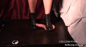 Brutal BDSM – Blind Deaf Boots Beating – Mistress Ivy