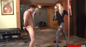 Survive on Your Pre Cum PIXIE BALLBUSTING – Pixie Von Bat – She Owns Your Manhood