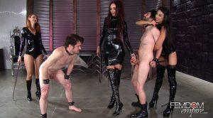 Mistress' Pain Party – Kendra James, Sablique Von Lux, Goddess Tangent – Vicious Femdom Empire