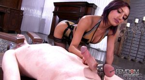 Do you like me teasing your cock? – Chloe Amour – Vicious Femdom Empire
