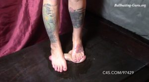 Feet and Sandal Trample – Mistress Mayhem – Brutal BDSM