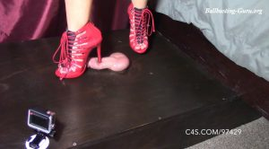 Red Stiletto Stomping – Mistress Jade – Brutal BDSM