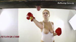 Silent Ball Boxing – AMBER SATIVA, Bryan Balldacious – Ballbustin' & Foot Lovin'