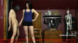 Amazon Goddess Victoria's Hardcore Ballbusting Workout Routine! GOLDEN CLASSIC HD REMASTER – We Love Ballbusting
