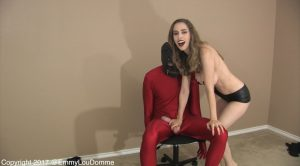 Oops, I Broke My Sub (Bound Lap Dance Leads to 4 Ruined Orgasms) – Goddess Emmy Lou
