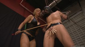 Pain Gets Me Off – Goddess Brianna – Cruel Unusual FemDom