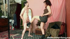 Ingrid's First Time Ballbusting – Ballbusting Beauties