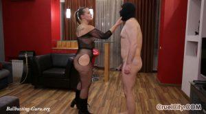 Mistress Nicole Beats Her Slave in Anger! – Cruel City