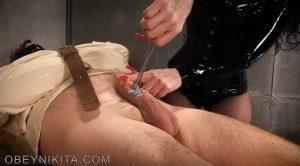 Stuck To Cum – Mistress Nikita FemDom Videos