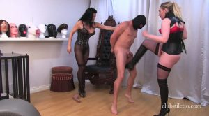 Ball Bashing Fun Part 2 – Domina Ruby, Miss Jasmine – Club Stiletto FemDom