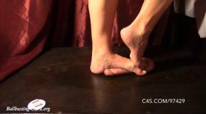 Barefoot Cock Jumping – Mistress Ivy – Brutal BDSM