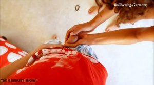 Chanel Stone Does Strip Bare Ball Squeezing – HD – The Ballbust Show