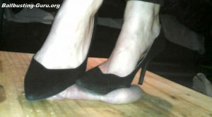 Cock Trample in Heels and Bare Feet – Jewels foot fantasy gems
