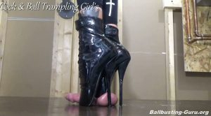 Extreme Gretchen! HD – Cock and Ball Trampling Girls