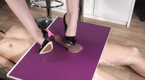 Lady Latisha Extreme Heel Insertion Clip 2 – High Heels Goddess – Lady Latisha