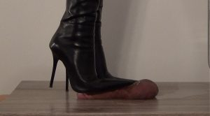 Lady Latisha's Boot Worship & CB-Trample Clip 1A – Cut Of 3 Views! – High Heels Goddess – Lady Latisha