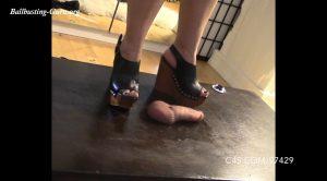 Multiple Shoes with Mistress Jade – Brutal BDSM