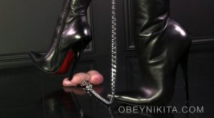 Step On My Cock – Mistress Nikita FemDom Videos