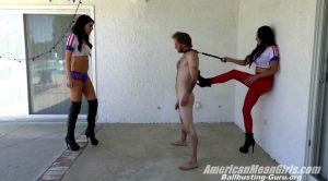 Ballbusting: Bella Vs. Aria (HD) – THE MEAN GIRLS