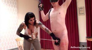 Cane And Crop His Cock! – Dometria Hardcore BDSM Movies