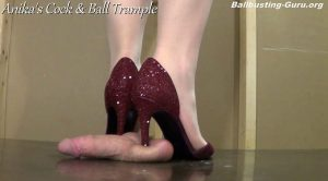 Anikas Cock and Ball Trample – Lethal Anika damages your Balls! ALT HD