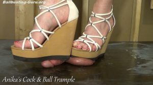 Modelling Shoes as i Crush your Genitals!! HD – Anikas Cock and Ball Trample