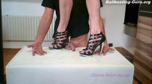 Shoe show by trampling genitals and hands 46 FULL HD MP4 – Dianas-fetish-lounge