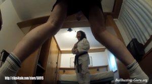 Strong tkd ballbusting punishment & foot domination – Martial Fetish