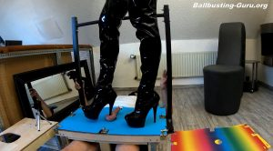 Dianas-fetish-lounge – Trampled cock on the box 26 cam1 FULL HD