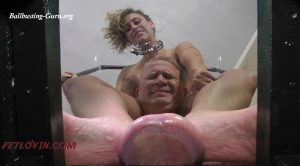 Ballbustin' & Foot Lovin' – 152 Pounds of Notty – MP4 Large – Eva Notty