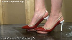 Barefoot Cock Trample to Shoejob! (Custom Request) HD – Anikas Cock and Ball Trample